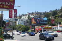 North of Sunset strip (Chateau Marmont)