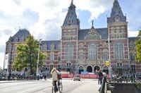 Rijksmuseum around the corner