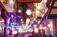 "(Nevizade) 2 mins. close to famous night-life centers of Taksim such as ""Nevizade"", ""Cicek Pasaji"", ""Asmali Mescid"" and ""French Street"". You will not need to walk much after a good evening event."