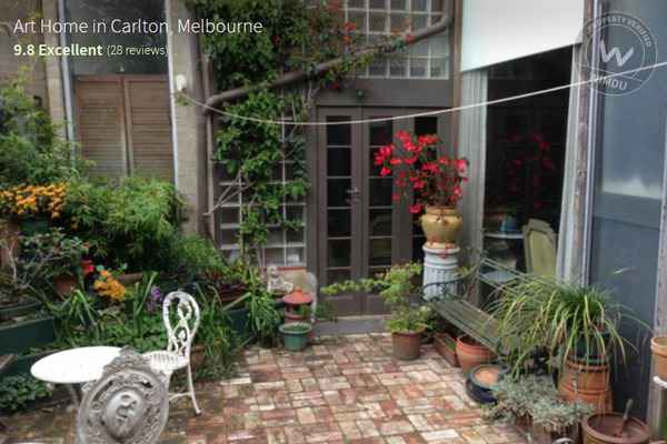Arty Home In Carlton Melbourne   Barkly Street, Melbourne