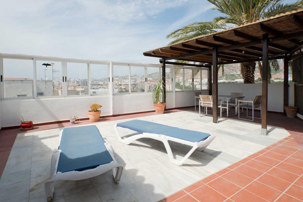 Casa en la playa terraza casa almu car for La azotea de la casa de granada